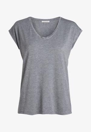 Camiseta estampada - light grey melange