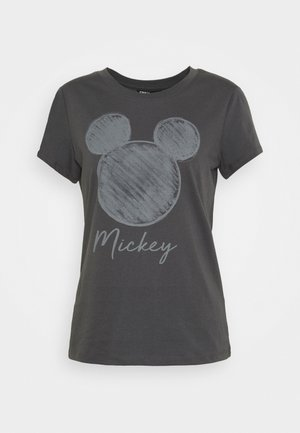 ONLMICKEY NEW FACE - T-shirts med print - dark grey