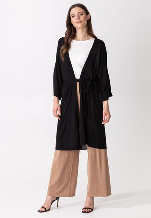 SANGAJ - Cardigan - black