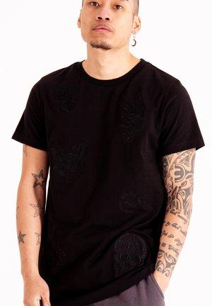 DRAG CLOUD - Basic T-shirt - black