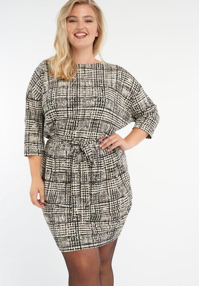 Robe d'été - multi zwart-wit
