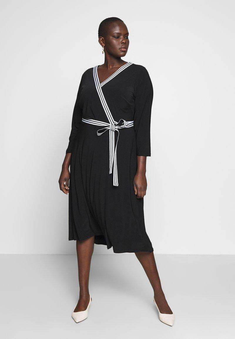 Lauren Ralph Lauren Woman - BENNETT DAY DRESS - Shift dress - black