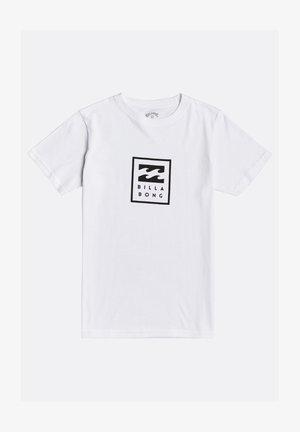 UNITY GARON - Print T-shirt - white