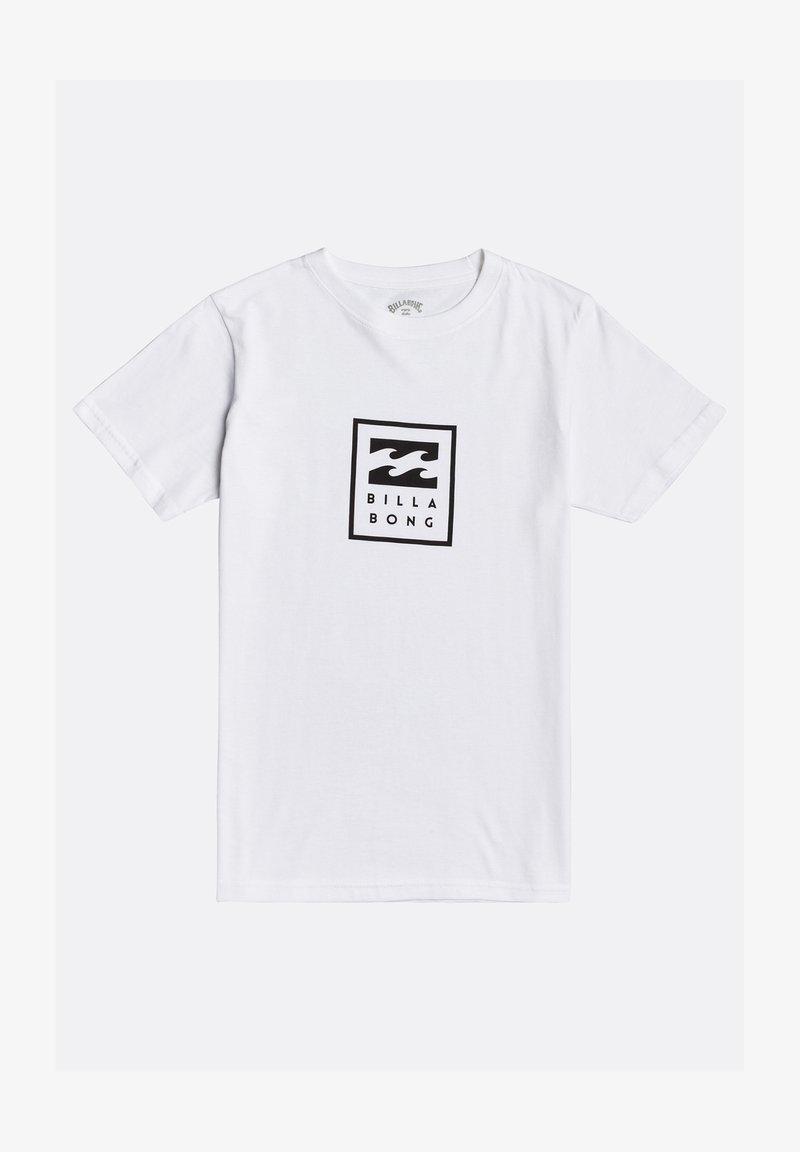 Billabong - UNITY GARON - Print T-shirt - white