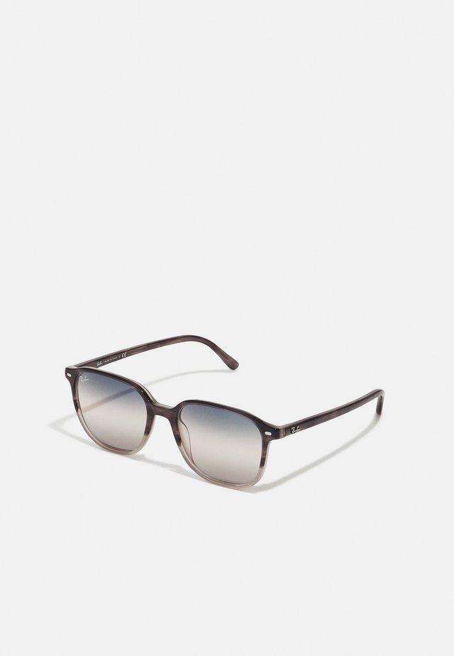 Sonnenbrille - gradient grey havana
