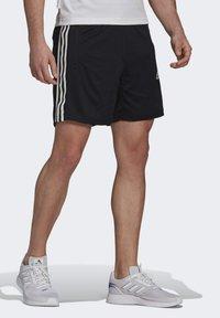 adidas Performance - PRIMEBLUE DESIGNED TO MOVE SPORT 3-STRIPES SHORTS - Sports shorts - black - 3