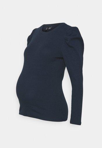 VMMNATASHA PUFF TOP - Sweter - navy blazer