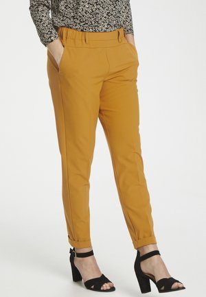 NANCI JILLIAN - Trousers - inca gold