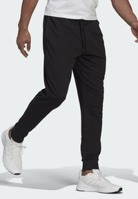 adidas Performance - SL ESSENTIALS SPORTS FRENCH TERRY PANTS - Pantaloni sportivi - black - 2