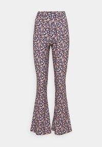 VICOSMO FESTIVAL PANTS - Pantaloni - black/pink/purple