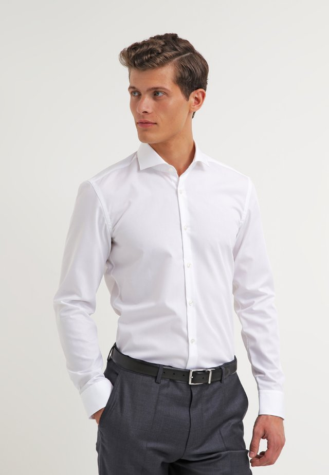 JASON SLIM FIT - Camisa elegante - open white