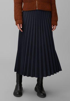 Pleated skirt - dark night