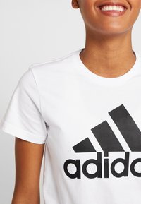 adidas Performance - BOS TEE - T-shirt print - white - 5