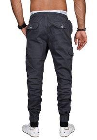 Alessandro Salvarini - DESIGNER - Cargo trousers - anthrazit - 1