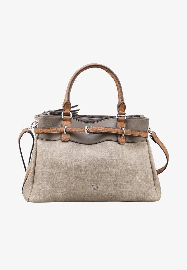 Handväska - taupe