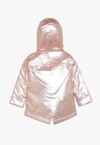 mothercare - BABY CLOUD AND RAIN PEARL  - Waterproof jacket - pink - 1