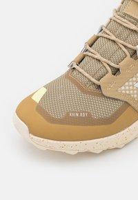 adidas Performance - TERREX TRAILMAKER - Hiking shoes - beige tone/crystal white/white - 5