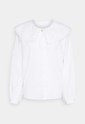 NUCURRAN BLOUSE - Blouse - bright white