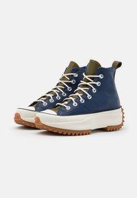 Converse - RUN STAR HIKE - Zapatillas altas - navy/dark moss/egret - 2