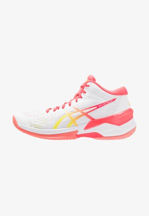 SKY ELITE FF  - Volleyball shoes - white/laser pink