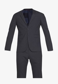 Tommy Hilfiger Tailored - SMALL CHECK SLIM FIT SUIT  - Suit - grey - 7