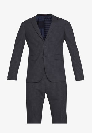 SMALL CHECK SLIM FIT SUIT  - Suit - grey