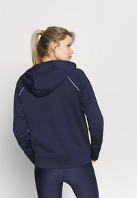 Under Armour - TRICOT JACKET - Sweatjacke - midnight navy - 2