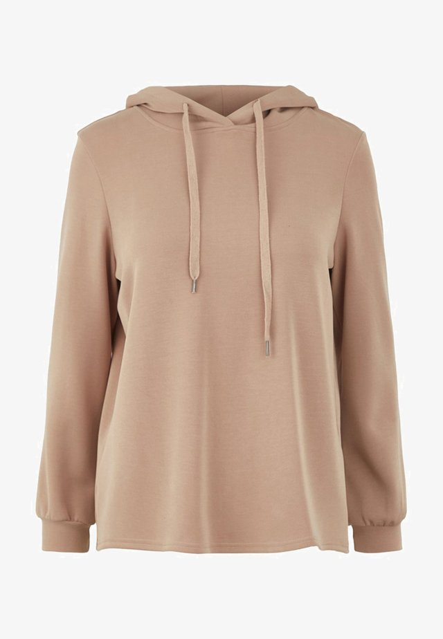 Sweat à capuche - warm taupe