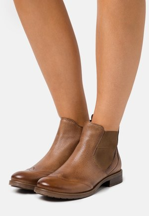 RONJA ECO - Ankle boots - beige