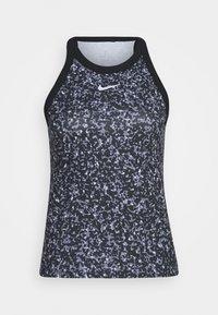 DRY TANK PRINTED - Sports shirt - black/white