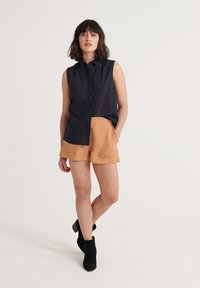 Superdry - SUPERDRY TILLY BRODERIE SHIRT - Button-down blouse - eclipse navy - 1
