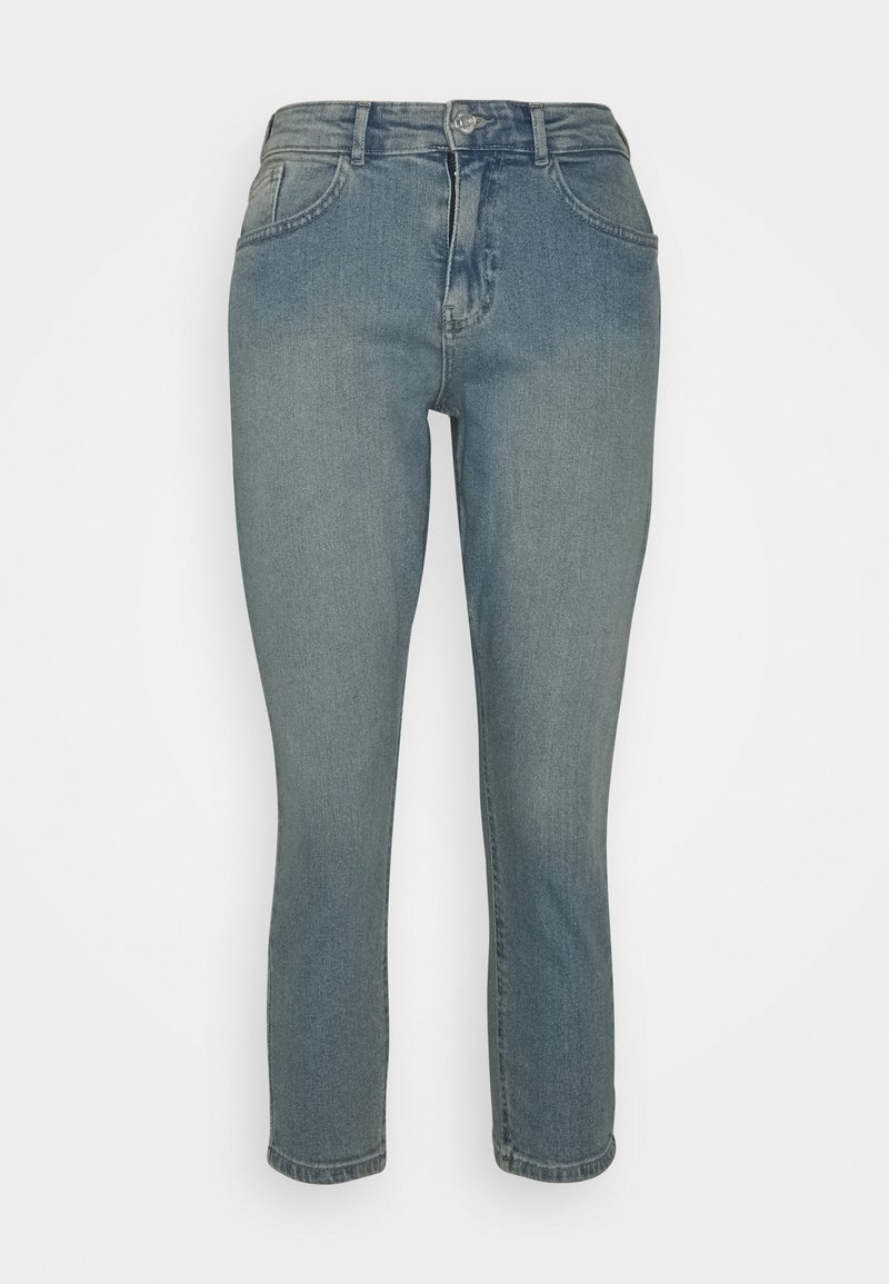 Noisy May Petite - NMKATY MOM - Relaxed fit jeans - light blue denim