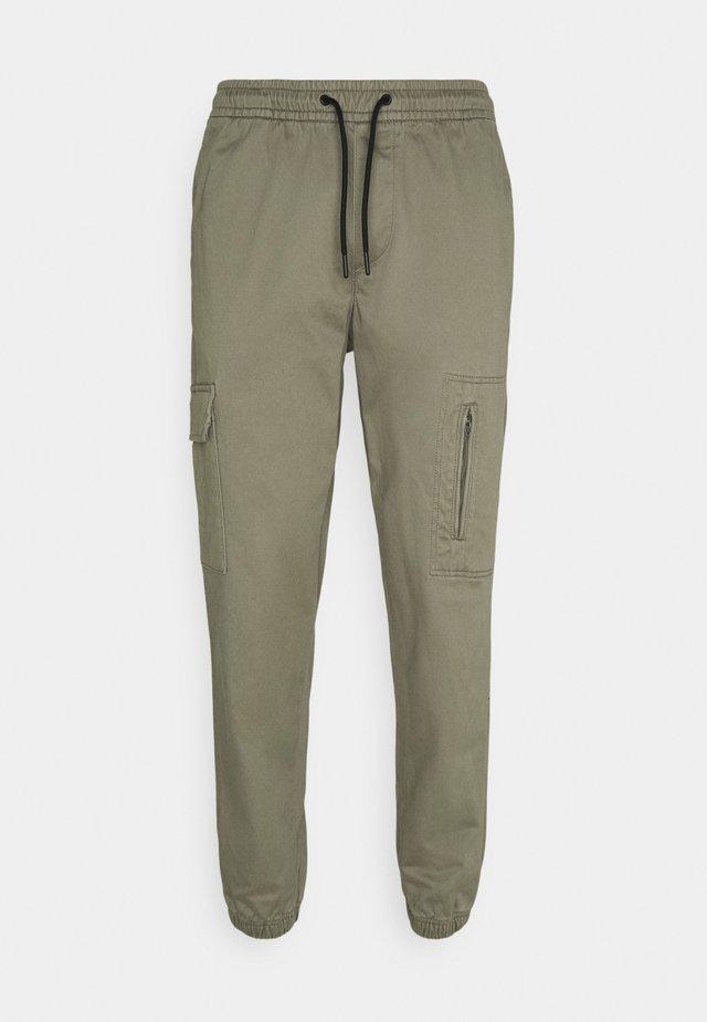JJIACE JJHILL  - Pantaloni - dusty olive