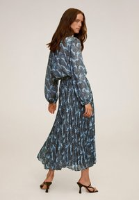 Mango - DENO - A-line skirt - bleu - 2