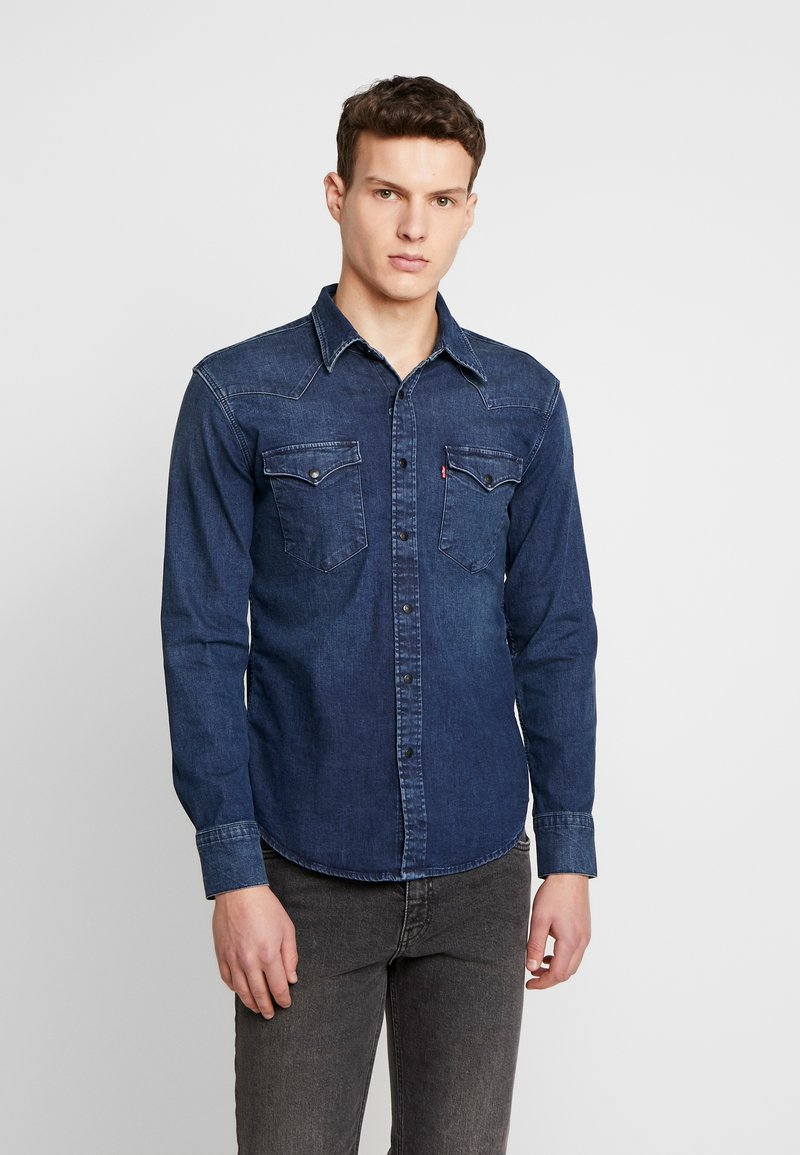 Levi's® - BARSTOW WESTERN SLIM - Košile - dark worn