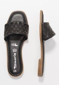 Tamaris - SLIDES - Pantofle - black - 3