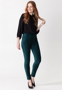 Indiska - Leggings - Trousers - petrol - 0