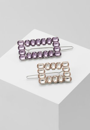 RECTANGLE 2 PACK - Hair Styling Accessory - lilac