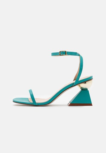 WIDE FIT AVELYN - Sandals - teal