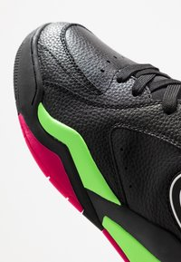 Champion - MID CUT SHOE ZONE MID 90'S - Basketsko - black/fluo lime/fluo fuxia - 5