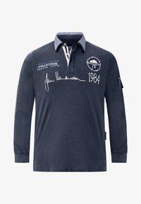 Jan Vanderstorm - JELLE - Polo shirt - dark blue - 4