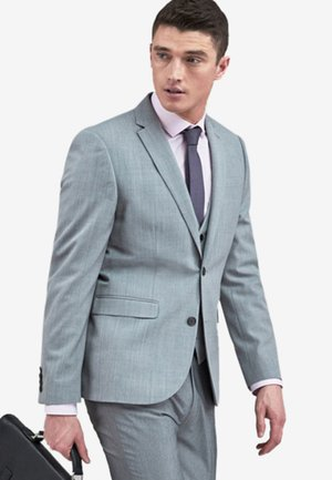 STRETCH TONIC SUIT: JACKET-SLIM FIT - Giacca elegante - light grey