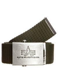 Alpha Industries - HEAVY DUTY BELT - Belt - oliv - 0