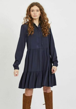 VIMOROSE DRESS - Shirt dress - navy blazer