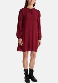 Esprit - Denní šaty - bordeaux red - 5