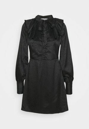 AVON - Skjortekjole - black