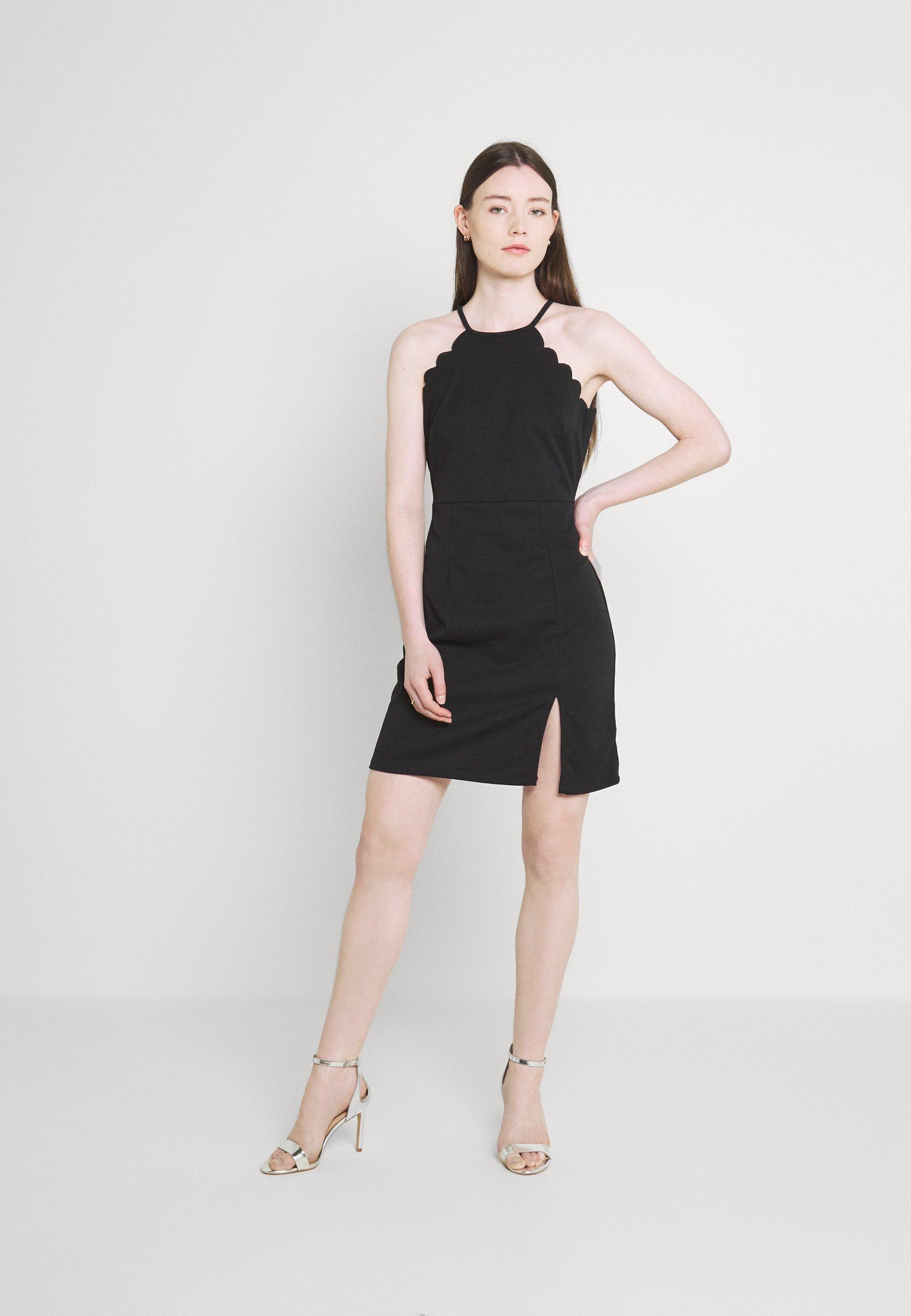 Damen YELDA SCALLOP NECK DRESS - Cocktailkleid/festliches Kleid