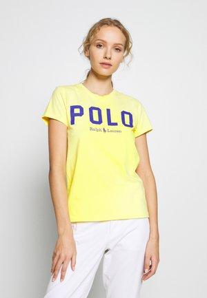Print T-shirt - lemon crush