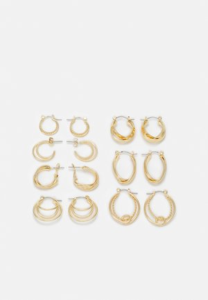 EARRINGS 7 PACK - Earrings - gold-coloured