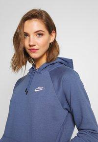 Nike Sportswear - HOODIE - Sweat à capuche - diffused blue/white - 3